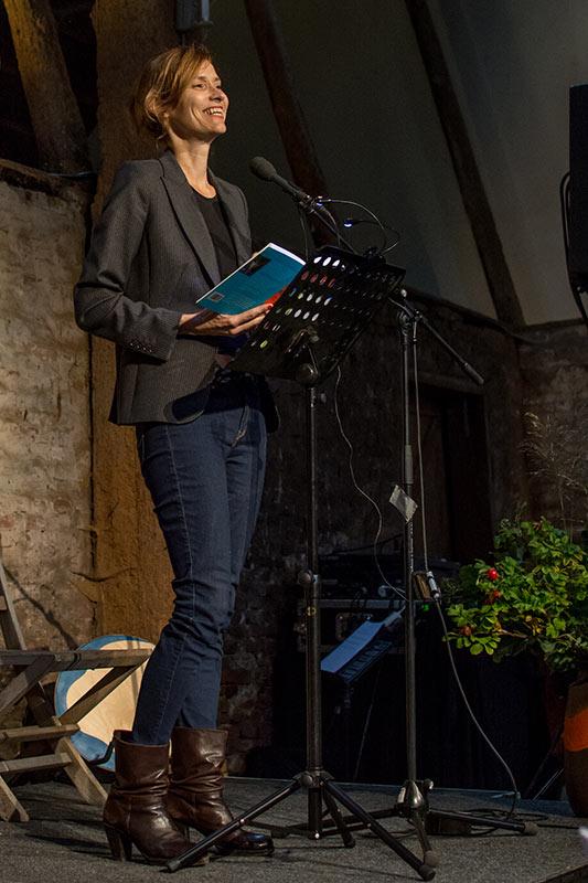 Tjitske Jansen - Dichter op de Deel 2017 - Fotografie: Jeroen van der Kalllen