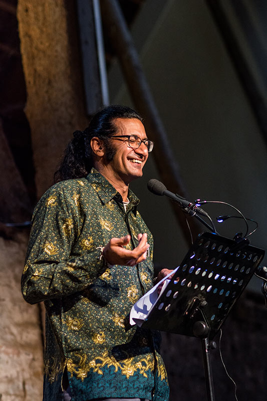 Rodaan Al Galidi - Dichter op de Deel 2017 - Fotografie: Jeroen van der Kalllen
