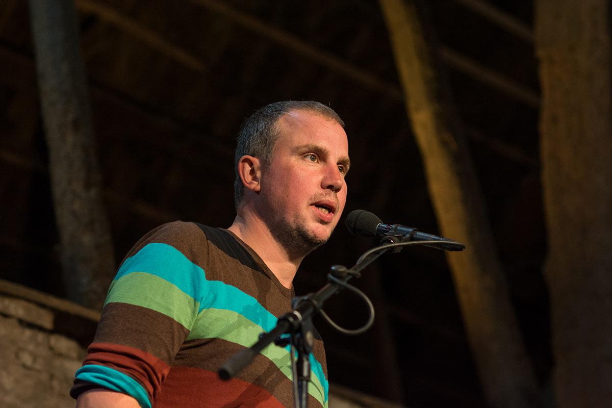 Tsead Bruinja - Dichter op de Deel 2017 - Fotografie: Jeroen van der Kalllen