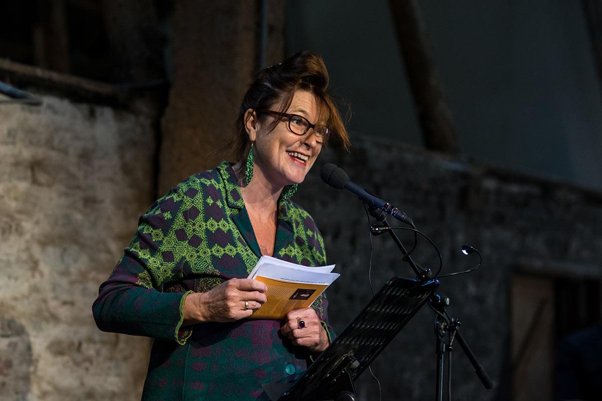 Dien L. de Boer - Dichter op de Deel 2017 - Fotografie: Jeroen van der Kalllen